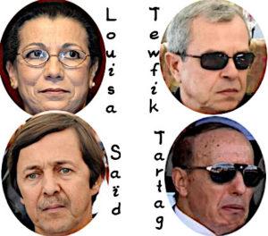 Saïd Bouteflika et ses complices
