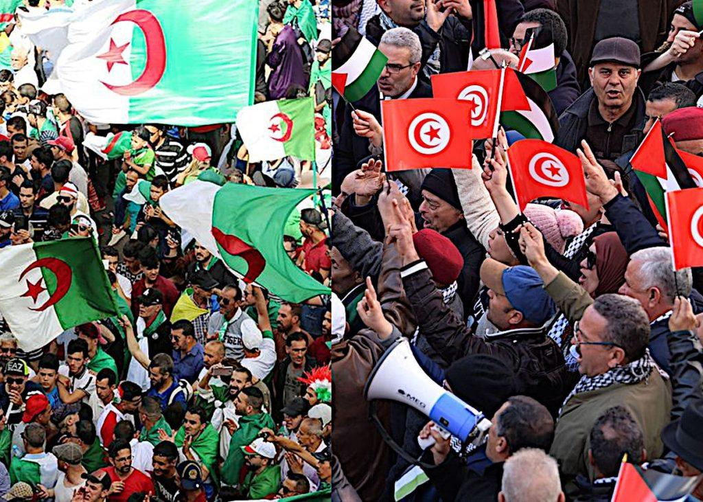 Algérie é Tunisie refusent espace aérien à l'avion israélien allant au Maroc.