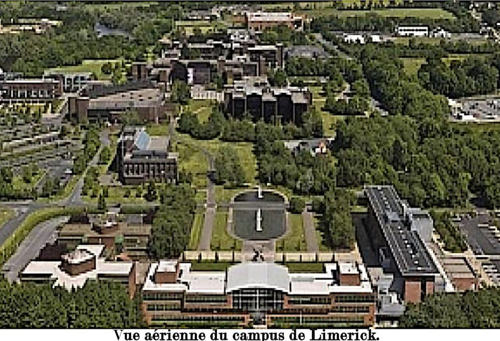 Campus de Limerick Irlande