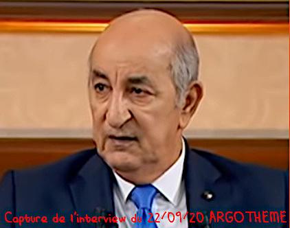 Président Abdelmadjid Tebboune