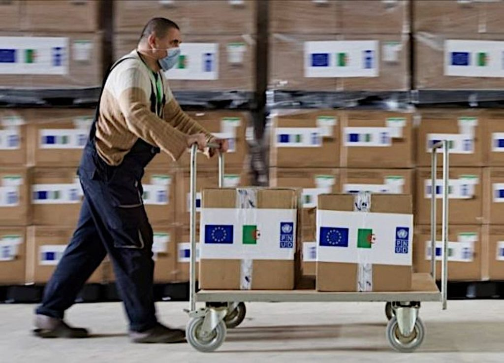 Aide PNUD & UE pour COVID