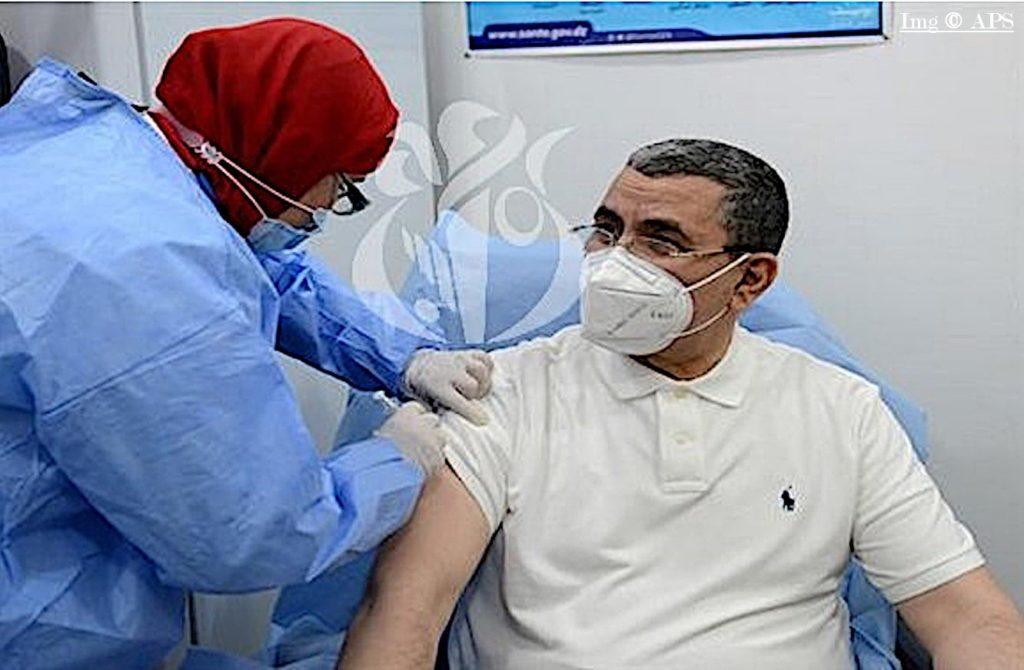 Djerad se vaccine