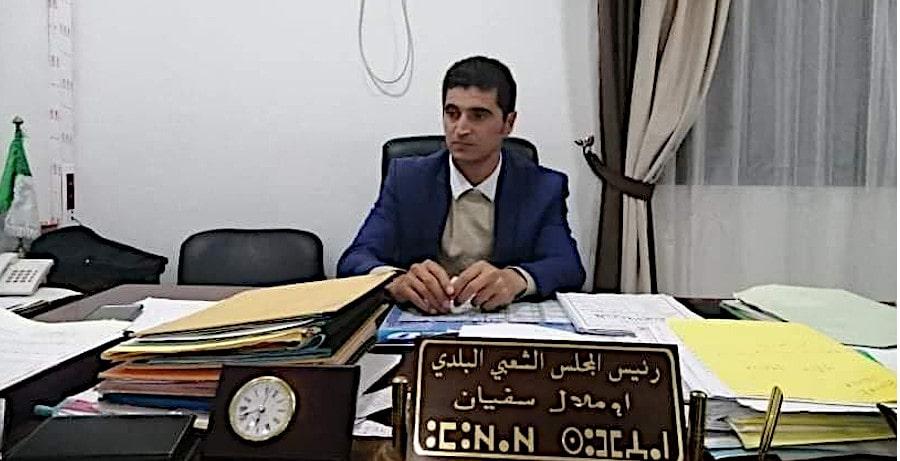Sofiane Oumellal, maire Aafir persécuté par la justice